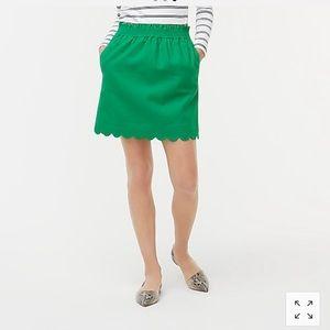 JCrew Factory Linen-Cotton Skirt!